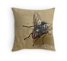 Eavesdropper. Throw Pillow