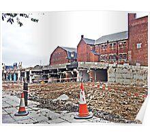 Demolition of Gateshead Car Park 2010 Poster