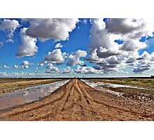 Signs of a breaking drought | Hay NSW Photographic Print
