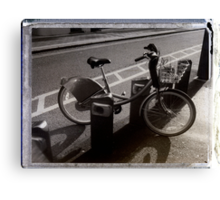 I've Got a Bike You Can Hire It If You Like Canvas Print