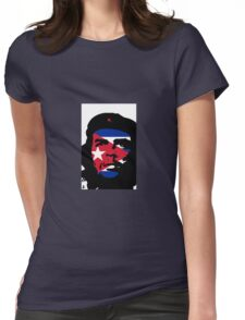 Che Eyes Cuba Womens Fitted T-Shirt