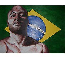 brazil anderson silva Photographic Print