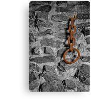 Rusty Links Canvas Print
