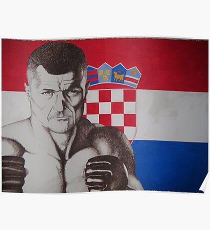 croatia mirko cro cop Poster
