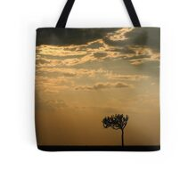 Sunset Over Masai Mara, Kenya Tote Bag