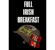 Full Irish Breakfast Photographic Print