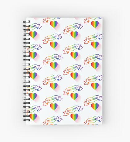 True Colors of Love Spiral Notebook