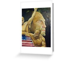 randy couture Greeting Card