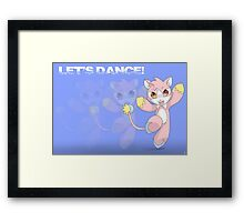 MiMi Cat: Let's Dance Framed Print