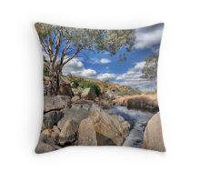 Mannum Falls Throw Pillow