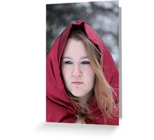 Winter Cloak Greeting Card