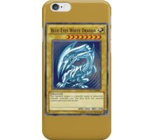 Yu-Gi-Oh- Blue-Eyes White Dragon iPhone Case/Skin