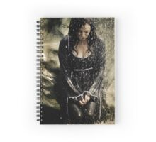 Mary McDonnell - BSG THROW PILLOW Spiral Notebook