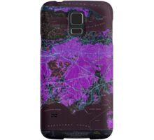 Massachusetts  USGS Historical Topo Map MA Hyannis 350222 1950 24000 Inverted Samsung Galaxy Case/Skin