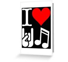 I Love Rock N Roll  Greeting Card
