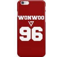 SEVENTEEN Wonwoo Varsity iPhone Case/Skin