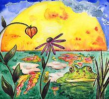 frog moment by Yvonne Lautenschlaeger aka medea