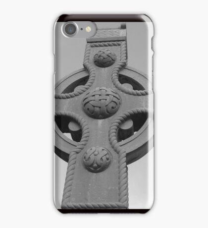 Celtic Cross Gartan Donegal Ireland iPhone Case/Skin
