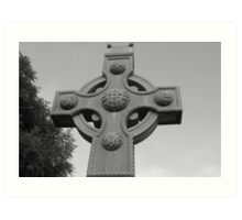 Celtic Cross Gartan Donegal Ireland Art Print