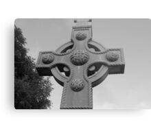Celtic Cross Gartan Donegal Ireland Metal Print