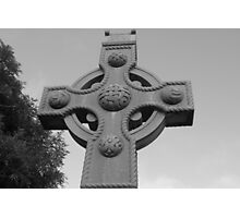 Celtic Cross Gartan Donegal Ireland Photographic Print