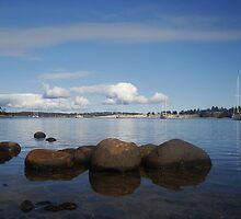 Lewisham. Tasmania. Australia. by kimathy