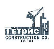 Tetris Construction Co. Photographic Print