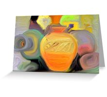 Pretty Pottery Greeting Card