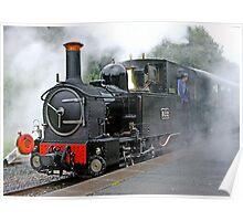 Locomotive 822  Poster