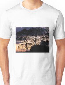 Halloween Sky - Magilligan County Derry Ireland Unisex T-Shirt