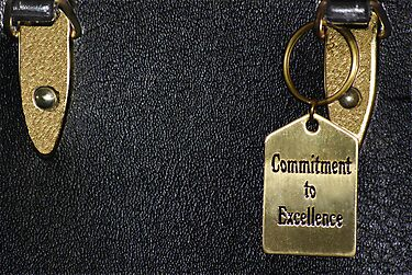"""Commitment to Excellence"" by Laurie Minor"