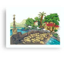 Ponte Romanica Canvas Print