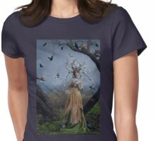 The Court Of The Dryad Queen Womens Fitted T-Shirt