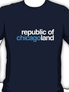republic of chicagoland (dark blue or black) T-Shirt