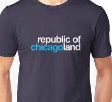 republic of chicagoland (dark blue or black) Unisex T-Shirt