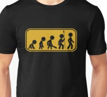 Evolution of [stick] Man Unisex T-Shirt