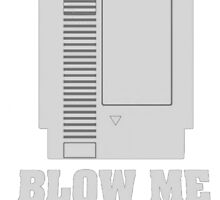 Blow Me - Nintendo 64 Cartridge  by Oscar30694