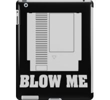 Blow Me - Nintendo 64 Cartridge  iPad Case/Skin