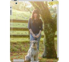Monty and Stephanie iPad Case/Skin