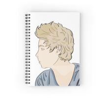 Luke - watercolor Spiral Notebook
