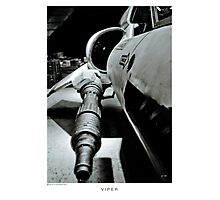 Viper Turret Spiral Notepad! Photographic Print