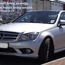 Proverbs 10 v 4 Mercedes Car by Dawnsuzanne