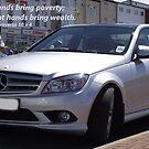Proverbs 10 v 4 Mercedes Car by Dawnsuzanne