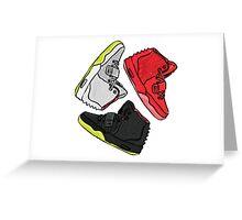 Yeezy Trifecta Greeting Card