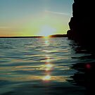 Sunset across the water, Scotland by sarnia2