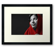 Looking for You...... Framed Print