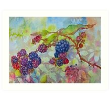 The Berry Best to You All Art Print