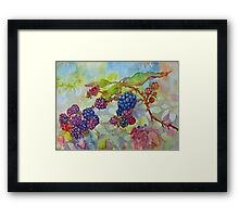 The Berry Best to You All Framed Print