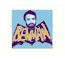 the Benman Art Print