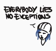 Chloe's Decal - Everybody Lies by scolecite